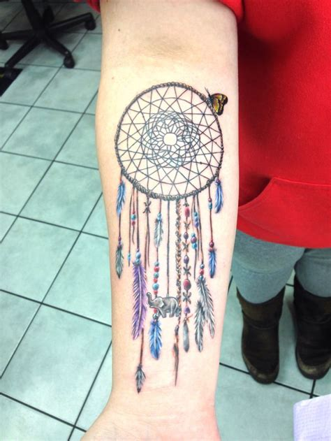 dream catcher tattoo on forearm 17 best ideas about dreamcatcher back on