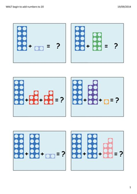 printable numicon games powerpoint to model how to use numicon to add and to