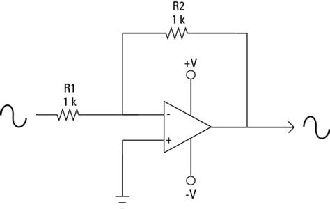 what is a gain resistor electronics components how to use an op as a unity gain lifier dummies
