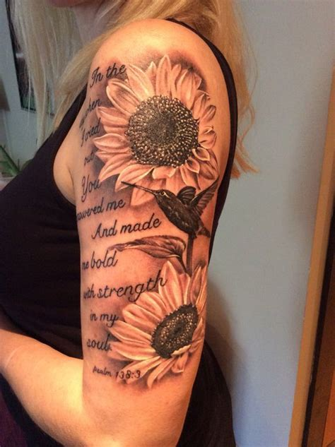 sunflower and rose tattoo 50 amazing sunflower ideas for creative juice