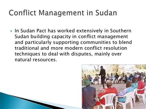 natural resources conflict and conflict resolution paul cowles the role of capacity development in