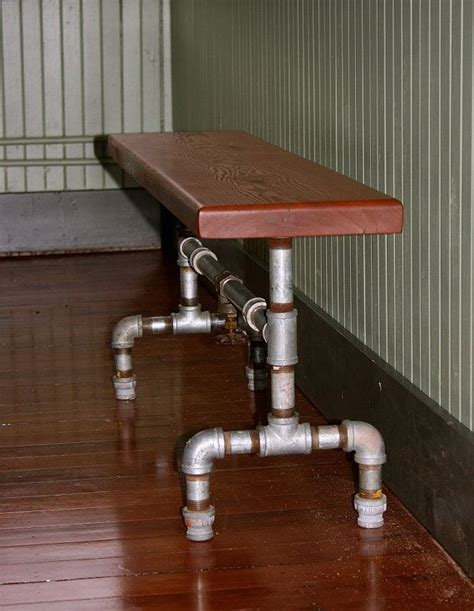 galvanized pipe bench 1000 images about tree furniture on pinterest stump table furniture and ocean art