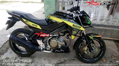 Striping Variasi Vixion New 6 modifikasi motor vixion hitam kuning pecinta modifikasi