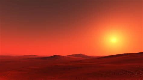 wallpaper sahara sunset desert hd nature