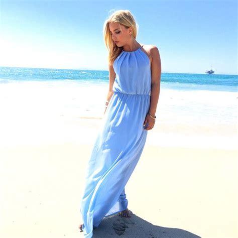 light blue halter maxi dress light blue halter top maxi dress by dainty hooligan ustrendy