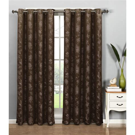 Curtain L 3 window elements semi opaque danica faux embroidered 54 in w x 84 in l grommet wide