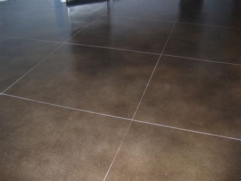 Elegant Brown Painting Concrete Floors With Epoxy For