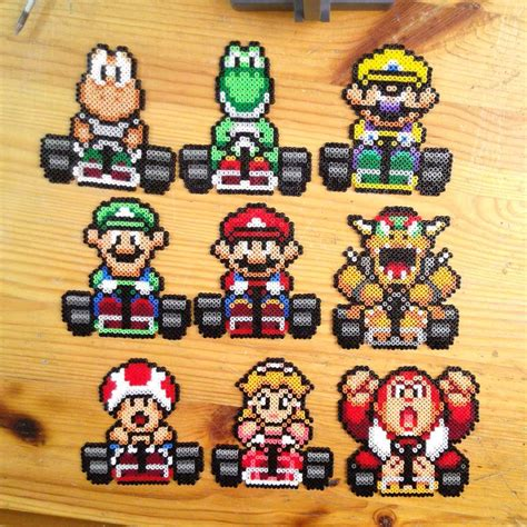 Mario Kart Hama By Yurekart Mario