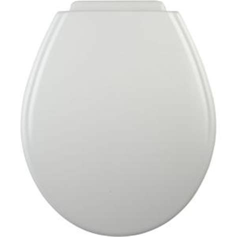 bemis xcite closed front toilet seat in white 547xc