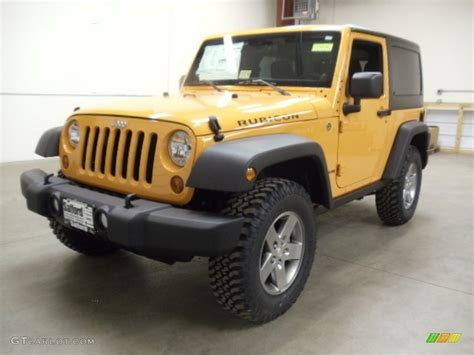 jeep rubicon yellow 2012 dozer yellow jeep wrangler rubicon 4x4 59860802