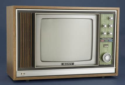 Television receiver c 1970 at science and society picture library