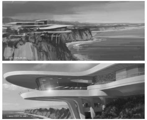 iron man malibu house stark modernism tony stark s malibu home from iron man