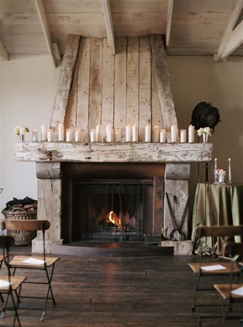 Rustic Fireplace by Scandinavian Home Cosy Rustic Fireplace