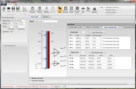 frame design software download framecad pro crack cold formed steel design excel full