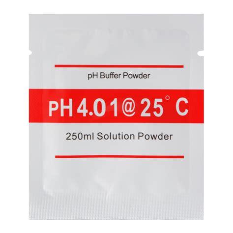 Istimewa Ph Buffer Powder Solution Ph 7 00 20 pack 4 01 6 86 ph meter buffer solution powder for easy ph calibration bi672 ebay
