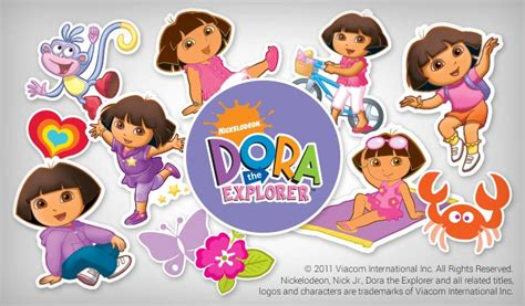 Fun To See Wall Stickers dora the explorer stickers stickeryou products