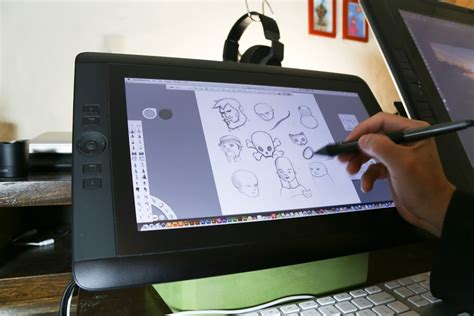 Drawing Monitor by Review Wacom Cintiq 13hd Pen Display Tablet Parka Blogs