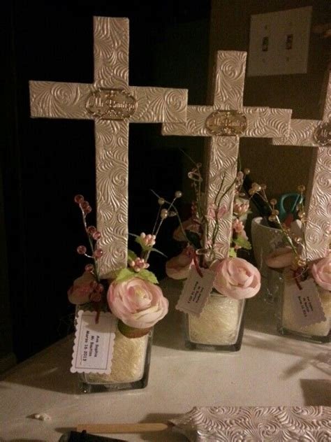 Baptism Favors For Centerpiece Car Interior Design Baptism Centerpieces Ideas