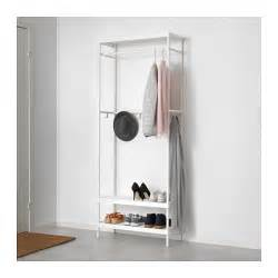 garderobe mit schuhablage mackap 196 r coat rack with shoe storage unit 78x193 cm ikea
