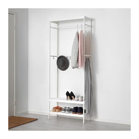 coat stand and shoe storage mackap 196 r coat rack with shoe storage unit 78x193 cm ikea