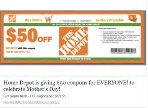 home depot discounts scam home depot coupon