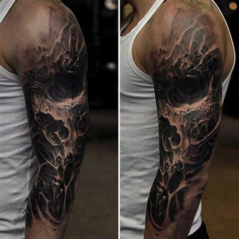 dark tattoos for men 90 black ink designs for ink ideas