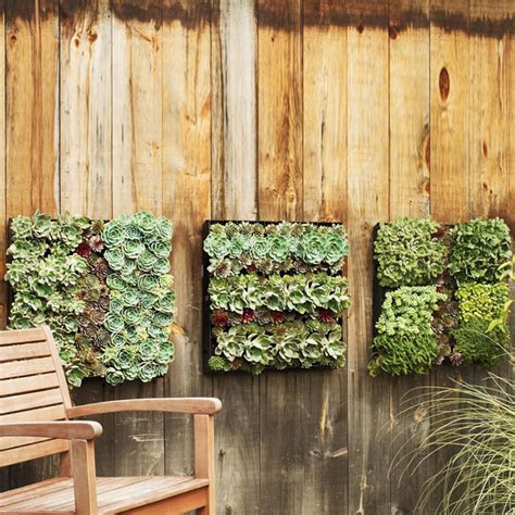 Green Wall Planters by Outdoor Living Wall Planters The Green