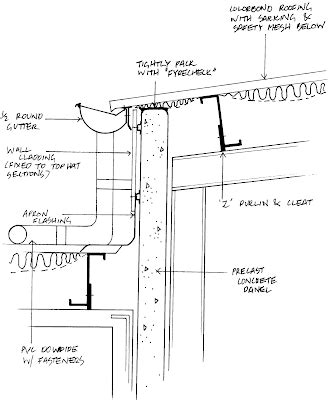 gutter section detail jack s construction blog details