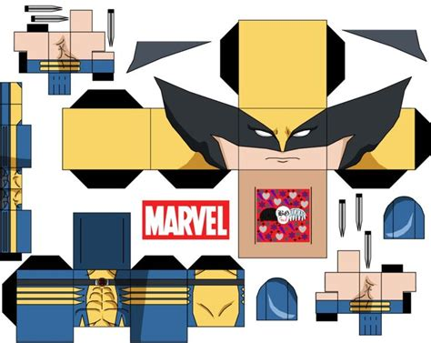 wolverine by guitar6god on deviantart paper toys