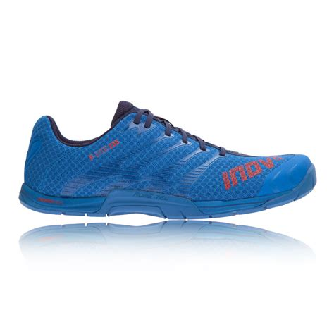 inov8 f lite 235 mens blue running sports shoes trainers