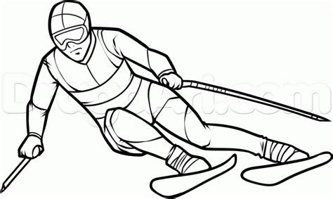 How To Draw Skis Pictures Pin On Pinterest sketch template