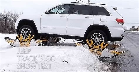 jeep snow tracks 2016 jeep grand cherokee snow kit forest lake mn