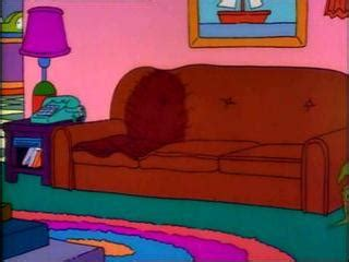 homer simpson couch homer vs lisa and the eighth commandment tramoline
