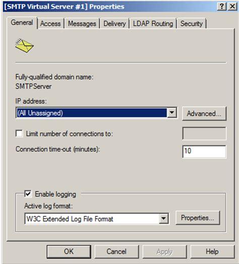 configure xp smpt smtp relay windows xp