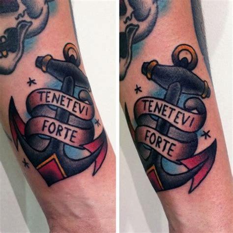 70 tradicional ancla dise 241 os de tatuajes para los hombres