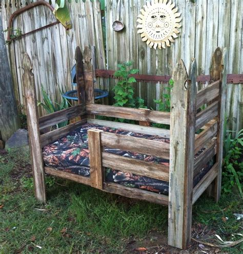 Handmade Toddler Bed - diy rustic toddler bed wood work