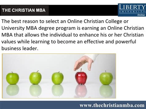Vins Christian College Of Engineering Mba by Enhance Christian Values With An Mba