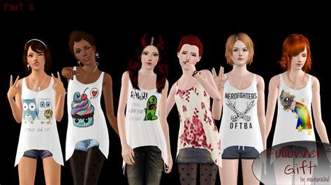 my sims 3 blog mar my sims 3 blog attack shirt by rayne