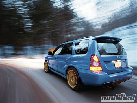 subaru forester modified 2007 subaru impreza forester fanatic modified magazine