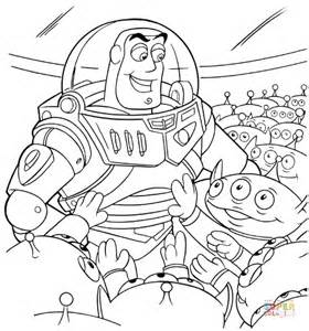 buzz lightyear coloring pages free printable alien with buzz lightyear coloring page free printable
