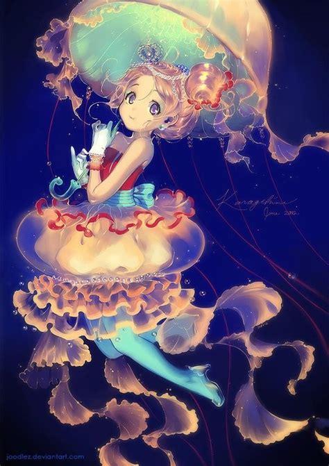 anime fish girl jellyfish anime girl 176 кαωαιι αиιмє 176 pinterest