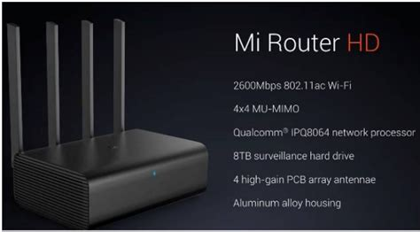 Xiaomi Mi Wifi Hd Router Pro Black xiaomi mi router hd detailed specification review
