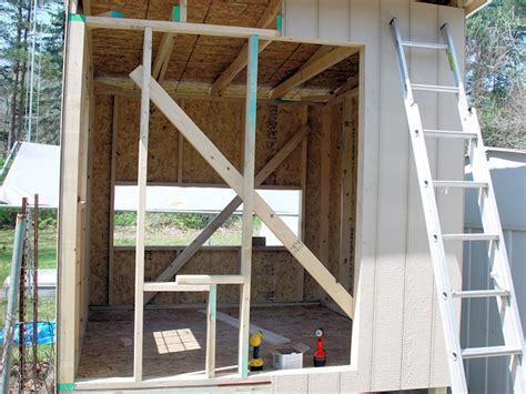 Chicken Coop Construction Part 7 Front And Rear Panelling