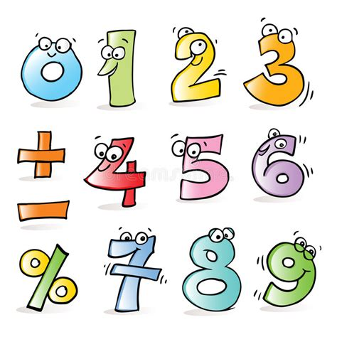 clipart numeri numbers stock vector illustration of five numeral