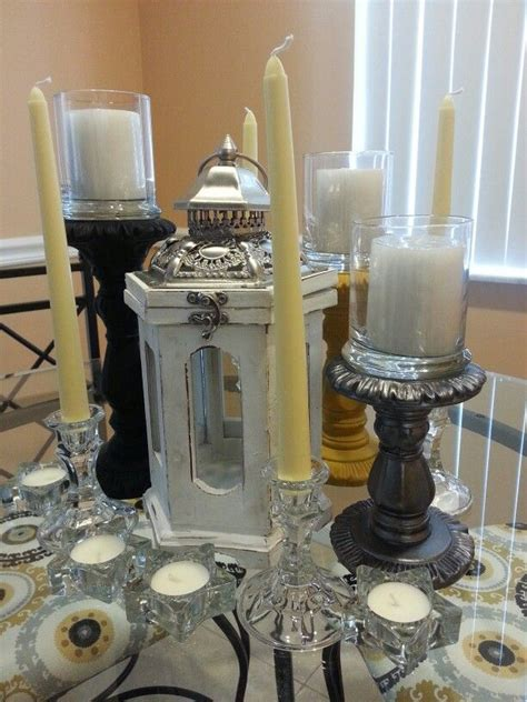 Dining Room Table Candle Centerpieces 10 Best Images About Diy Dining Table Centerpiece On Pinterest Jars Floating Candles And