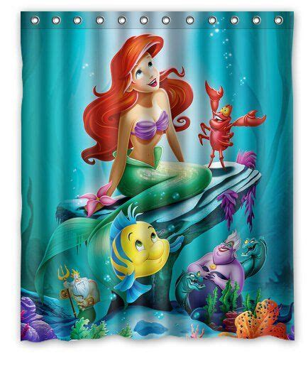 disney little mermaid shower curtain best 25 ariel the little mermaid ideas on pinterest