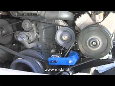 v belt tensioner for air conditioning compressor low