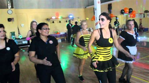 zumba halloween costume bash youtube