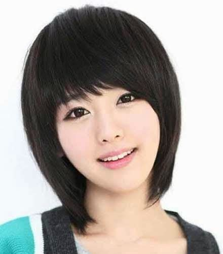 google model rambut model rambut pendek sebahu ala korea ayeey com