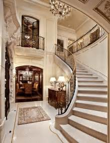 Grand Stairs Design Limestone Architectural Traditional Staircase Orange County By Monarch